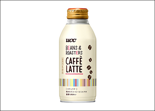 UCC BEANS & ROASTERS CAFFÈ LATTE リキャップ缶375g